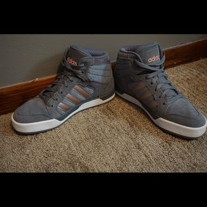 Adidas neo hightop sneakers